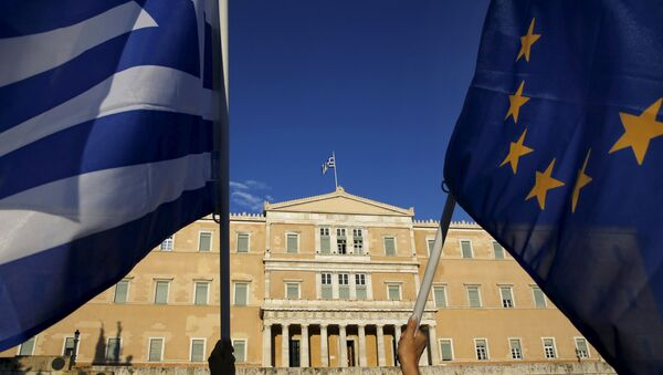 Заставе Грчке и ЕУ - Sputnik Србија