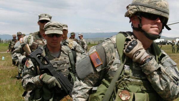 Američki vojni instruktori u Gruziji - Sputnik Srbija