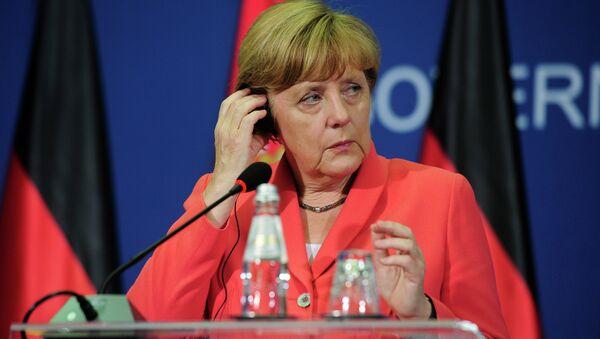 Nemačka kancelarka Angela Merkel tokom posete  Beogradu - Sputnik Srbija