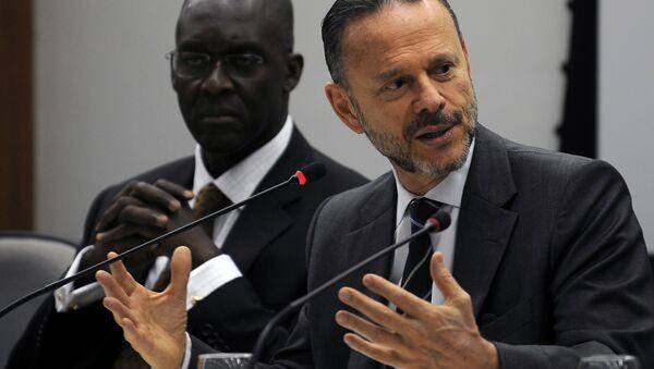 Predsednk razvojne banke Brazila, Lusijano Koutinjo - Sputnik Srbija