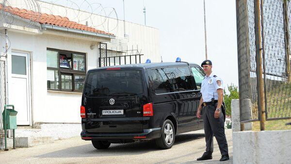 Капетан Драган приликом доласка у сплитски затвор - Sputnik Србија