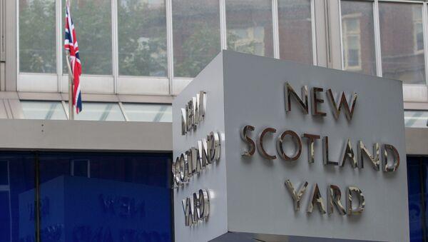 Sedište policijskog štaba Britanske gradske policije,poznat kao Skotland jard, u Londonu - Sputnik Srbija