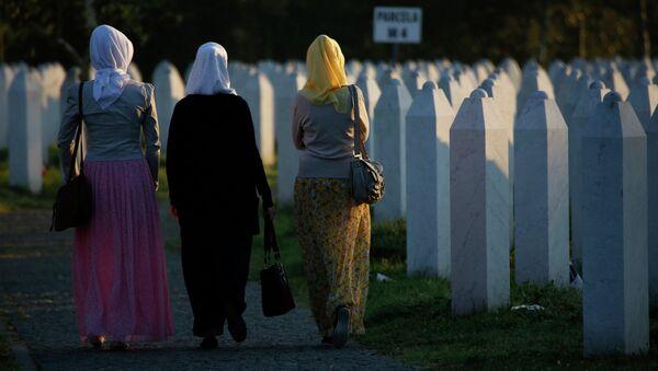 Сребреница, Поточари, комеморација - Sputnik Србија