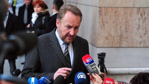 Politički lider Bosanskih Muslimana , Bakir Izetbegović - Sputnik Srbija