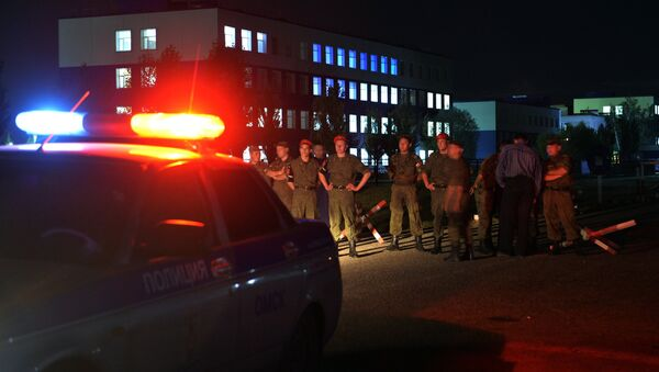 Nesreća u centru za obuku u Omskoj oblasti - Sputnik Srbija