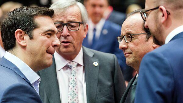 Sastanak evropskih lidera u Briselu zbog duga Grčke - Sputnik Srbija
