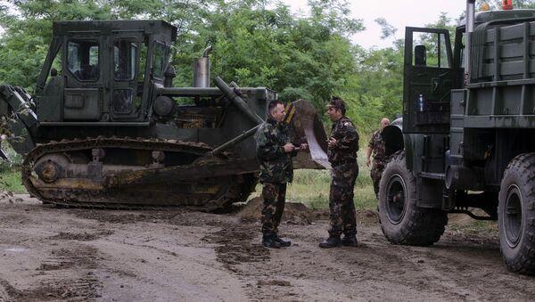 Mađari počeli da prave zid na granici sa Srbijom - Sputnik Srbija