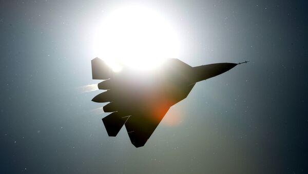 Руски борбени авион   ПАК-ФА Т-50 - Sputnik Србија