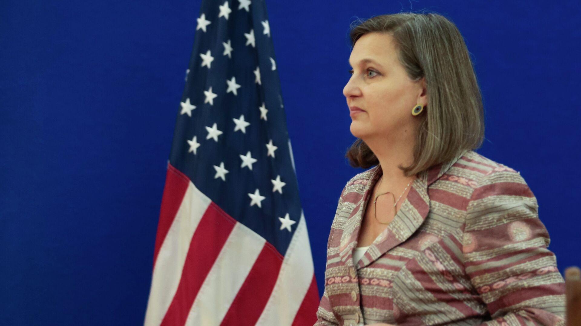 Pomoćnica američkog državnog sekretara za Evropu i Evroaziju Viktorija Nuland - Sputnik Srbija, 1920, 10.10.2021