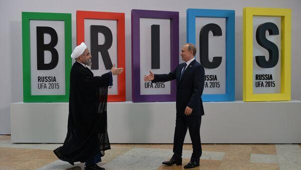 Vladimir Putin i Hasan Rohani - Sputnik Srbija