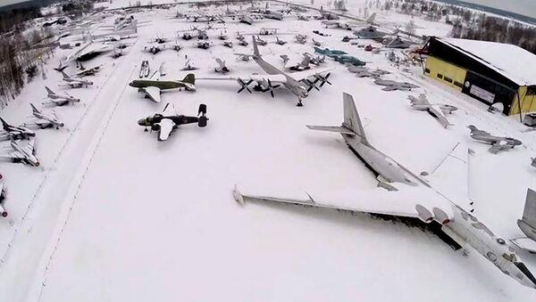 Музеј ратног  ваздухопловства у близини Москве - Sputnik Србија