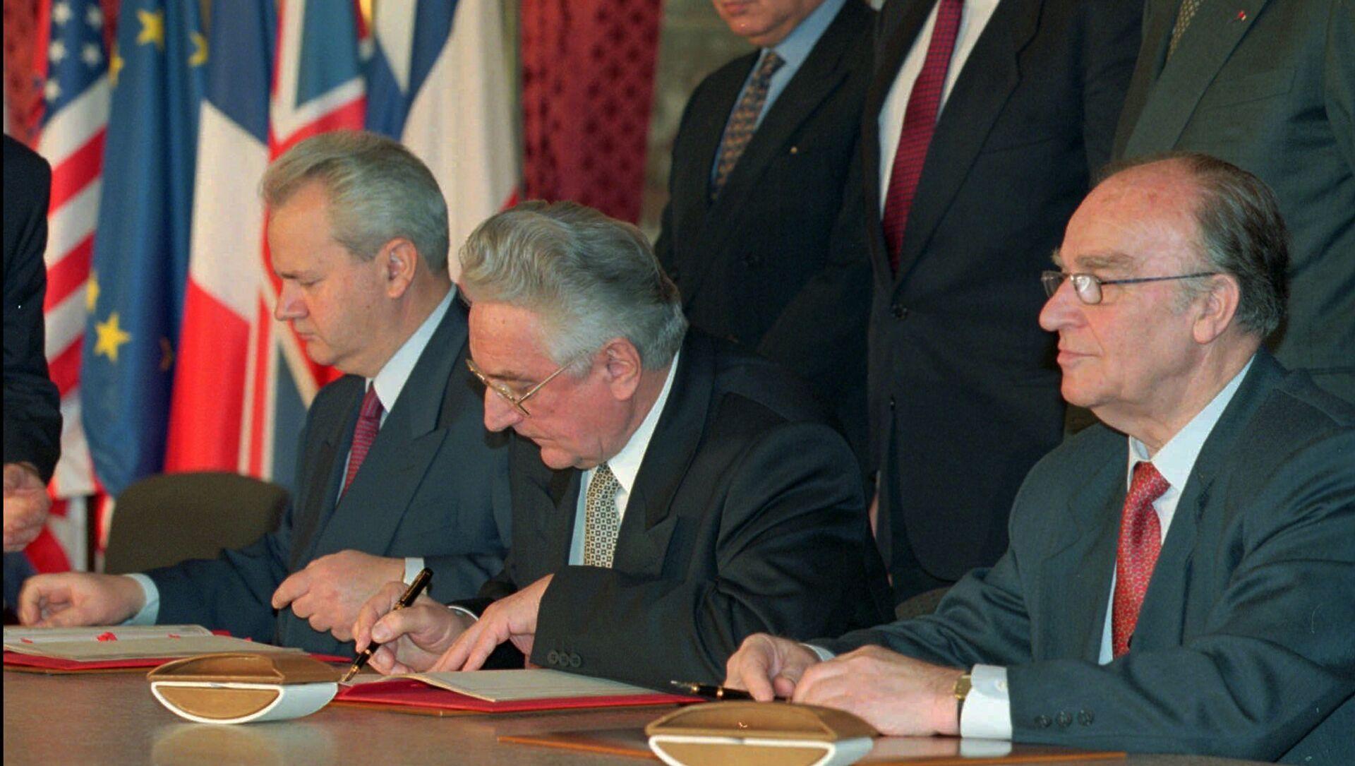 Потписивање Дејтонског споразума - Sputnik Србија, 1920, 07.05.2021