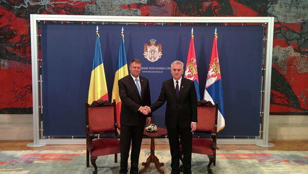 Klaus Verner Johanis i Tomislav Nikolić - Sputnik Srbija