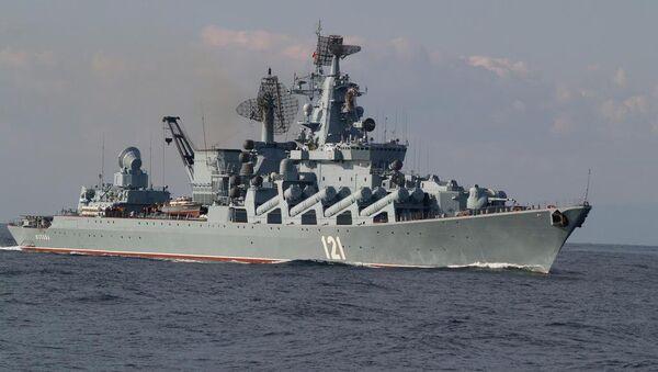 Krstarica Moskva, ruska Crnomorska flota - Sputnik Srbija