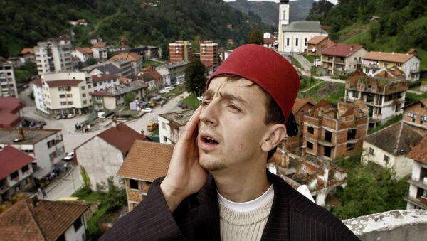 Сребренички имам Идриз Халиловић - Sputnik Србија