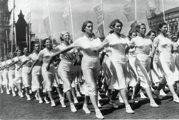 Током припреме за параду, Москва, 1932. - Sputnik Србија