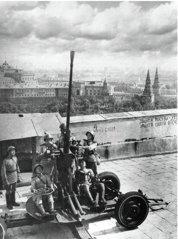 Одбрана Москве - Sputnik Србија
