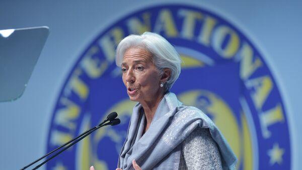 Kirsten Lagard generalni direktor Međunarodnog monetarnog fonda - Sputnik Srbija