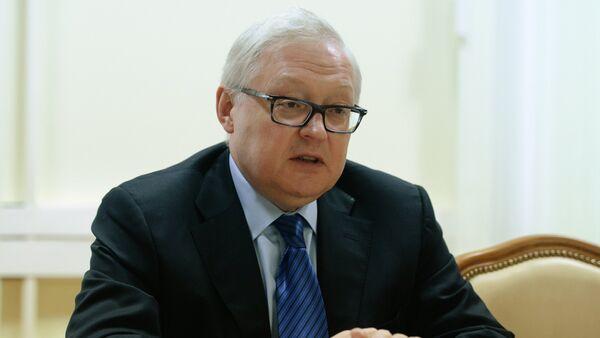 zamenik šefa ruske diplomatije Sergej Rjabkov. - Sputnik Srbija