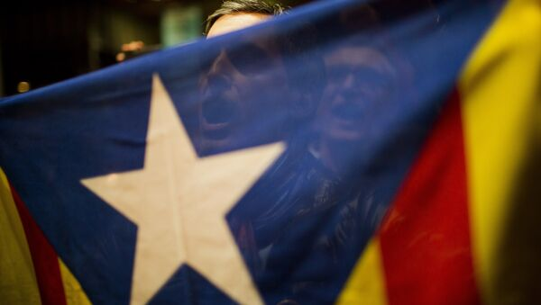 Katalonija zastava - Sputnik Srbija