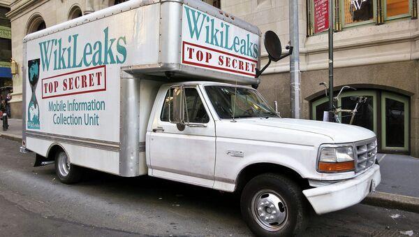 Викиликс камион - Sputnik Србија