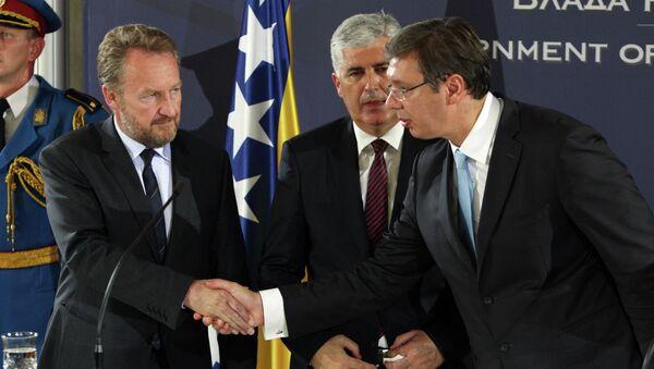 Aleksandar Vučičić i Bakir Izetbegović - Sputnik Srbija