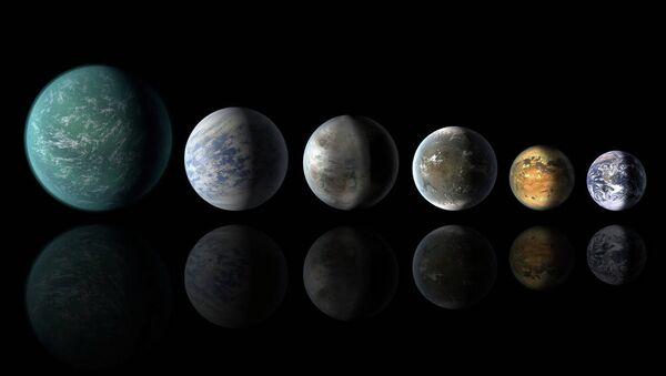 NASA otkrila planetu sličnu zemlji KEPLER - Sputnik Srbija