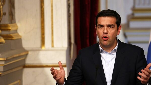 Premijer Grčke Aleksis Cipras - Sputnik Srbija