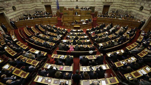 Grčki parlament - Sputnik Srbija