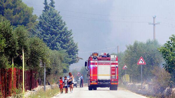 Експлозија у Италији - Sputnik Србија