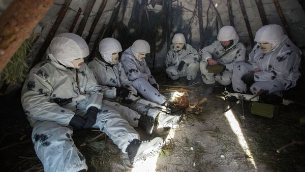 Арктичка бригада - тренинг кадета - Sputnik Србија