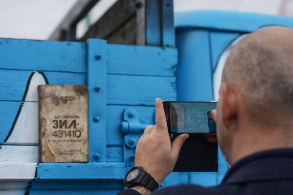 Стари руски ЗИЛ камиони – модерна уметност - Sputnik Србија