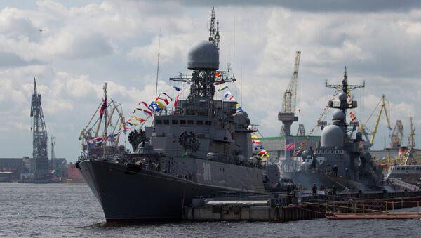 Glavna proba za paradu Baltičke flote - Sputnik Srbija