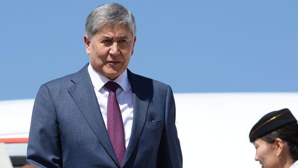 Almazbek Atambajev - Sputnik Srbija