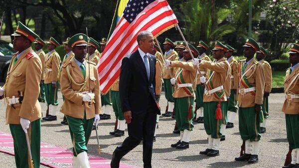 Barak Obama u Etipiji - Sputnik Srbija