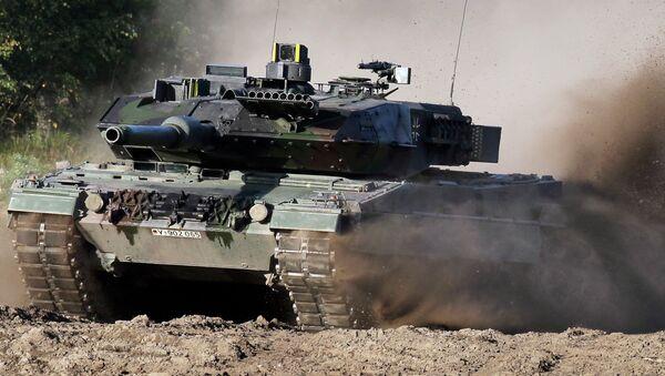 Немачки тенк Леопард 2 - Sputnik Србија