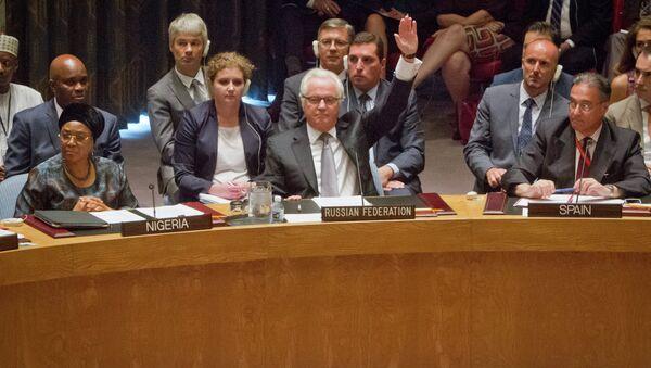 Виталиј Чуркин улаже вето у СБ УН - Sputnik Србија