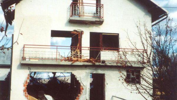 Oluja - iza hrvatske vojske ostale su spaljene i porušene kuće - Sputnik Srbija