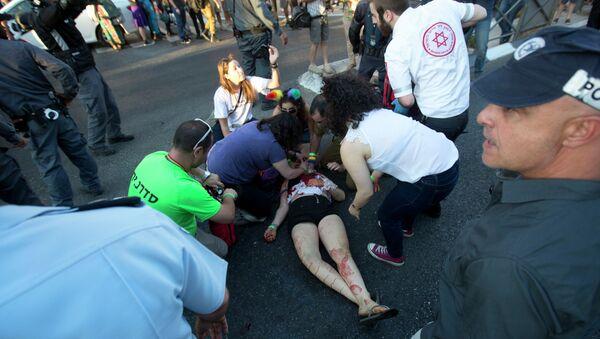 Povređeni na gej paradi u Jerusalimu - Sputnik Srbija