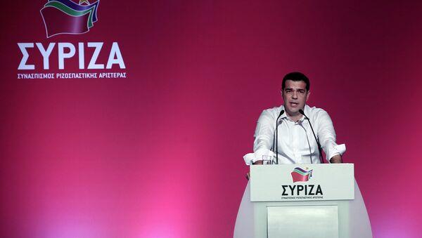 Алексис Ципрас говори на Централном комитету Сиризе - Sputnik Србија