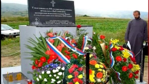 Pomen srpskim žrtvama u Glamoču - Sputnik Srbija