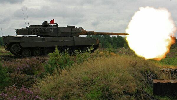 "Nato: Nemački tenk ""Leopard"" 2A7 - Sputnik Srbija"
