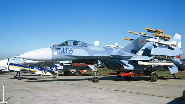 Su-33, mornarički lovac-bombarder - Sputnik Srbija