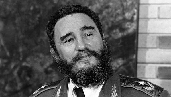 Fidel Kastro usnimljen 1977. godine - Sputnik Srbija