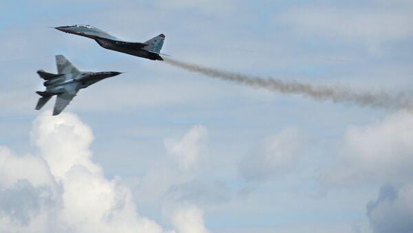 Takmičenje vojnih pilota 2015 u Rusiji, MiG 29 - Sputnik Srbija