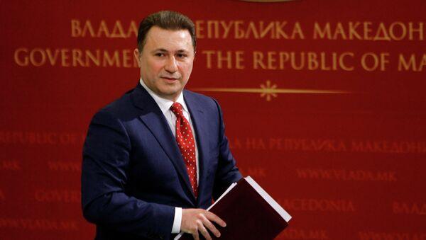 Gruevski Nikola - Sputnik Srbija