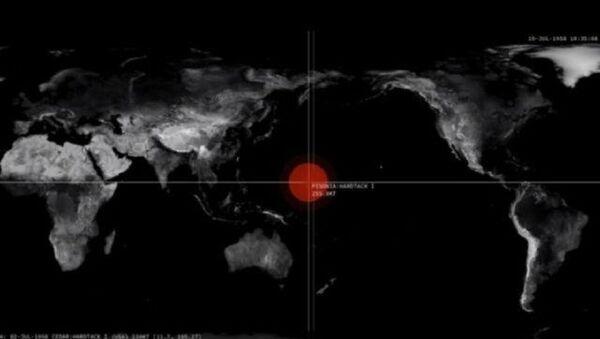 Prikaz detonacija atomskih bombi kroz istoriju - Sputnik Srbija