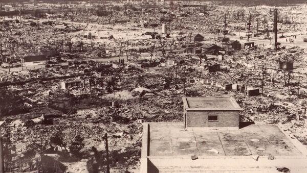 Uništena Hirošima, posle bacanja atomske bombe iz američkog  B-29, 06. avgusta 1945. Pilot Pol Tibets avion je nazvao Enola Gej, po svojoj majci - Sputnik Srbija