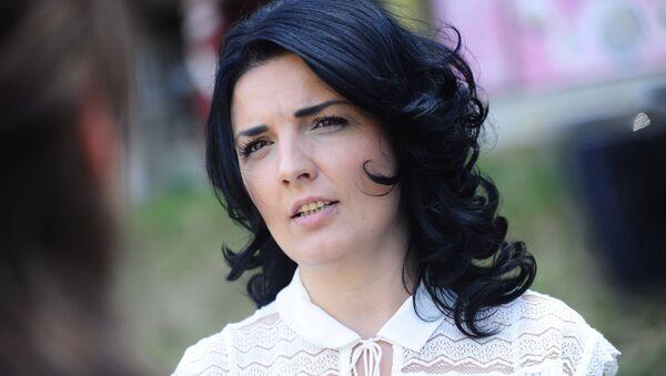 Милена Ивановић Поповић, супруга Оливера Ивановића - Sputnik Србија