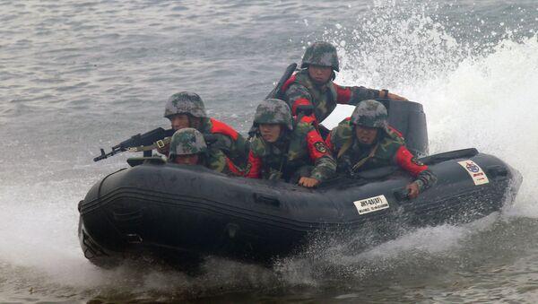 Open Water engineering troops competition - Sputnik Србија